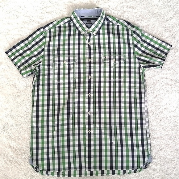 Tommy Hilfiger Other - Tommy Hilfiger Men's Large Button Down Shirt